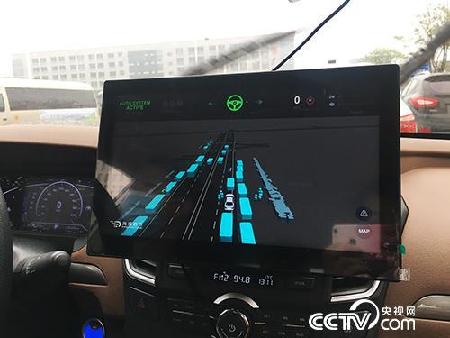 东风汽车的无人驾驶车