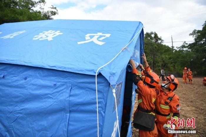 云南全力推进漾濞地震救援工作 设置集中安置点380个插图
