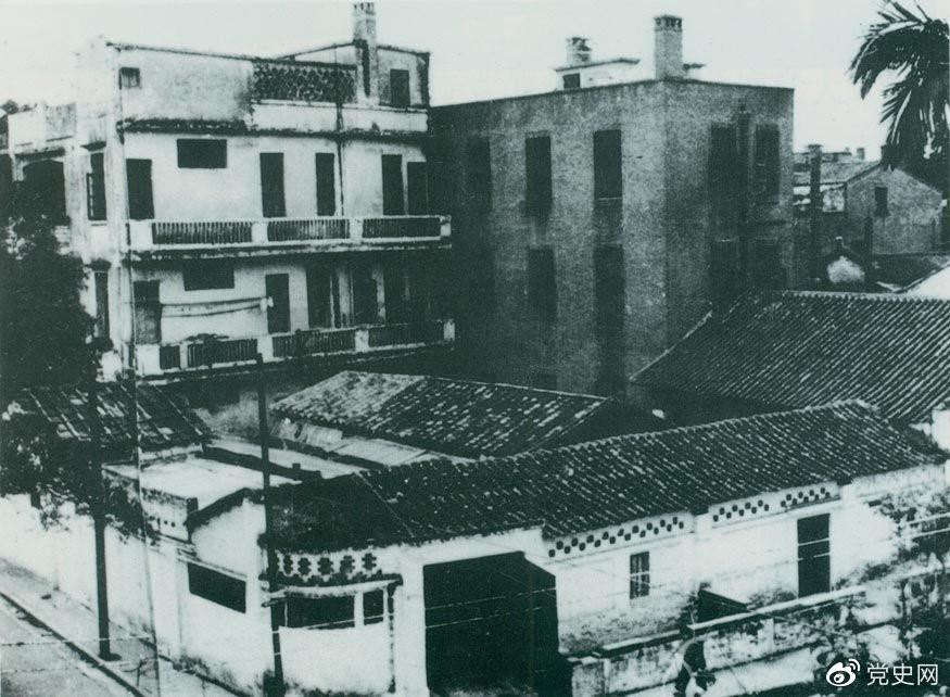 1923年6月12日至20日,中国共产党在广州东山恤孤院路后街31号(今恤孤院路3号)召开第三次全国代表大会,图为大会旧址。